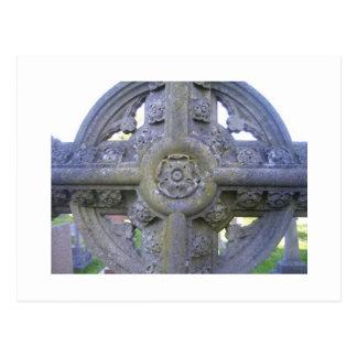 Tudor subió la lápida mortuaria postales