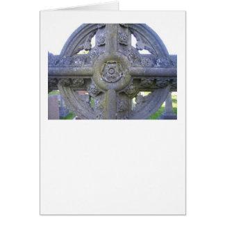 Tudor subió la lápida mortuaria tarjeta de felicitación