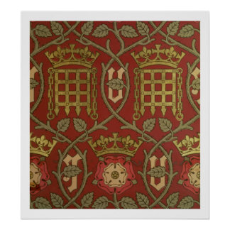"""""""Tudor subió"""", papel pintado de la reproducción di Poster"""