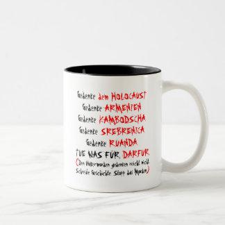 Tue was für Darfur Two-Tone Coffee Mug