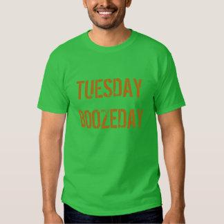 """Tuesday Boozeday"" t-shirt"