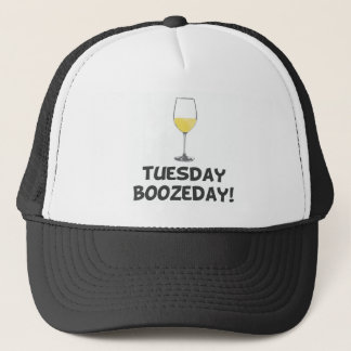 Tuesday Boozeday Trucker Hat
