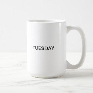Tuesday Coffee Mug