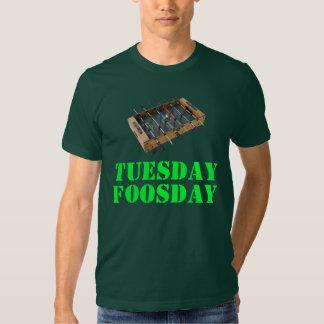 Tuesday Foosday Shirt