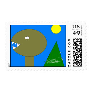 Tuesday in November Cover Postage Stamp