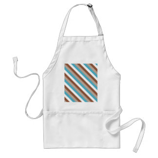 Tuesday Morning Stripes Adult Apron