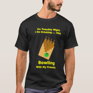 Tuesday Night Beer Bowler T-Shirt