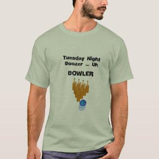 Tuesday Night Bowler T-Shirt