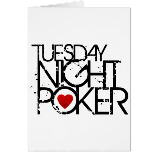 Tuesday Night Poker Card