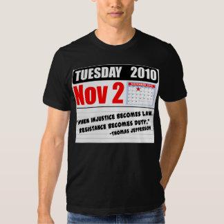 Tuesday November 2 2010 - Duty Calls! Shirt