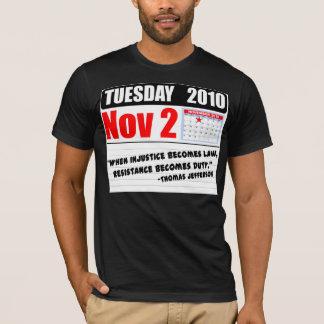 Tuesday November 2 2010 - Duty Calls! T-Shirt