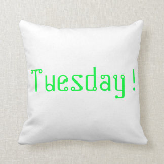 Tuesday pillow