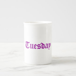 Tuesday Radiant Orchid China Cup Tea Cup