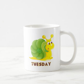 Tuesday Snail Coffee Mug