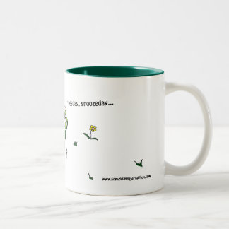 Tuesday, Snoozeday Muge - It Must Be A Tuesday Two-Tone Coffee Mug