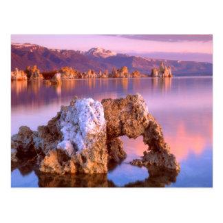 Tufa arch at Mono Lake Postcard
