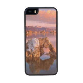 Tufa arch at Mono Lake Carved® Maple iPhone 5 Case