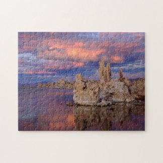 Tufa Formations on Mono Lake Jigsaw Puzzle