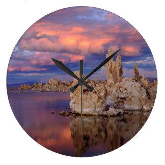 Tufa Formations on Mono Lake Large Clock