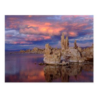 Tufa Formations on Mono Lake Postcard