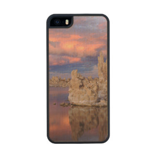 Tufa Formations on Mono Lake Carved® Maple iPhone 5 Case