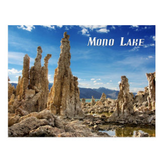 Tufa Towers, Mono Lake, California Postcard