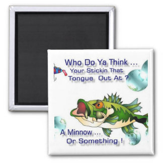 Tuff Bass 2 Inch Square Magnet