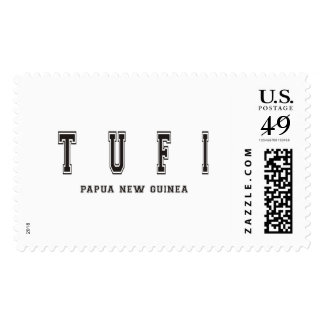 Tufi Papua New Guinea Postage