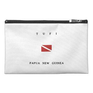 Tufi Papua New Guinea Scuba Dive Flag Travel Accessory Bag