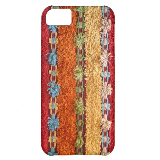 Tufted Carpetbagger Case For iPhone 5C
