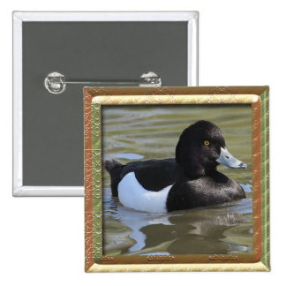 Tufted Duck Button
