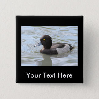 Tufted Duck Pinback Button