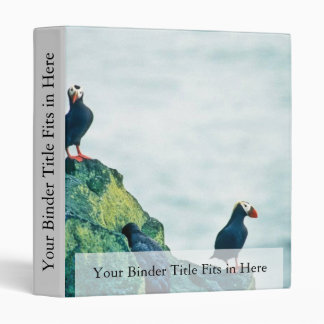 Tufted Puffins Binders