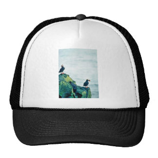 Tufted Puffins Mesh Hats