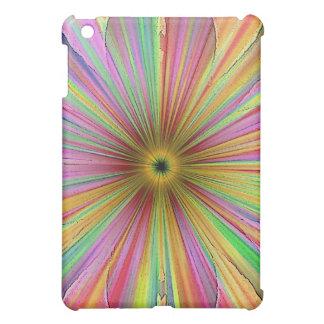 Tufted Rainbow Speck Case iPad Mini Cover