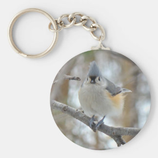 Tufted Titmouse (Baeolophus bicolor) Items Keychain