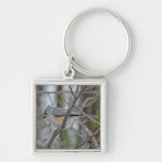 Tufted Titmouse (Baeolophus bicolor) Items Keychain