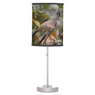 Tufted Titmouse Bird photo Table Lamp