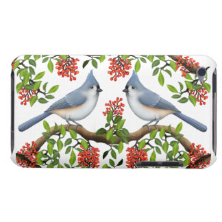 Tufted Titmouse Couple iPod Touch Case