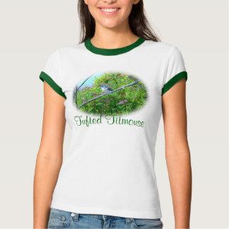 Tufted Titmouse Fledgling Baby Bird T-shirt