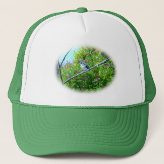 Tufted Titmouse Fledgling Baby Bird Trucker Hat