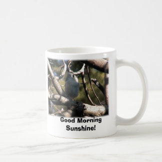 tufted Titmouse, Good Morning Sunshine! Coffee Mug