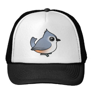 Tufted Titmouse Mesh Hat