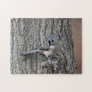 Tufted titmouse jigsaw puzzle