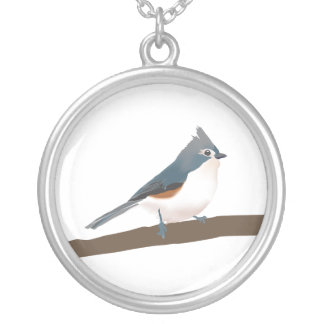 Tufted Titmouse Necklace