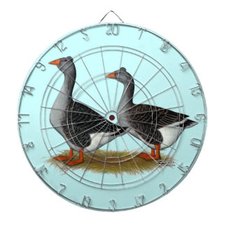 Tufted Toulouse Geese Dart Boards