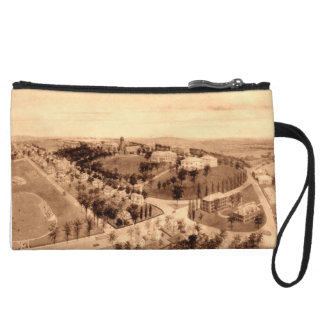 Tufts College Hill Panorama Wristlet Purses