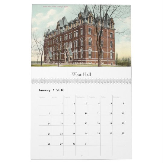 Tufts College Vintage Postcards 2013 Calendar