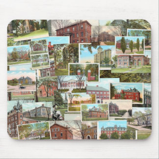 Tufts College Vintage Postcards Mouse Pad