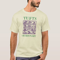 Tufts Veterinary Medicine- Classic design green T-Shirt